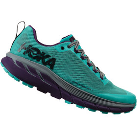 Hoka One One Challenger ATR 4 Running Shoes Women Pool Blue/Grape Royale